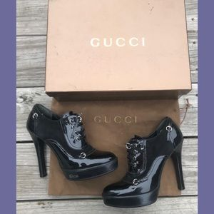✨Gucci Heeled Booties✨